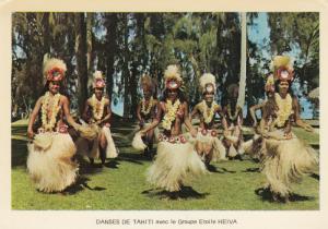 TAHITI, 50-70s; Danses De Tahiti avec le Groupe Etoile HEIVA