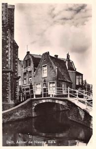 Delft Holland Achter de Nieuwe Kerk Delft Achter de Nieuwe Kerk