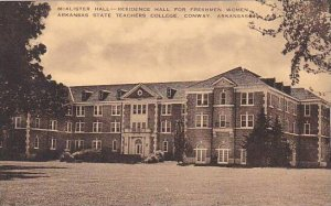 Arkansas Conway McAlister Hall State Teachers College Artvue