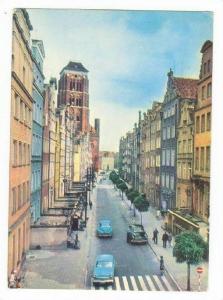GDANSK, Poland, 50-60s Ulica Piwna