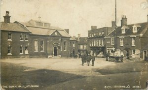Post card England Aylsham the Town Hall