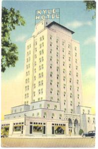 Linen of Kyle Hotel in Temple Texas TX 1943 Free