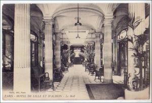 Paris, Hotel De Lille Et D'Albion, Le Hall