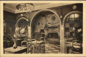 Cabaret du Vivarais Tain-l'Hermitage Interior c1915 Postcard