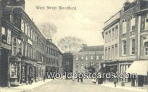 United Kingdom, UK, England, Great Britain West Street Blandford Blandford We...