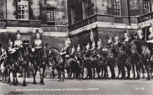 RP; The Changing of the Guard at Whitehall, London, England, United Kingdom, ...