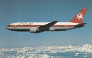 AIR CANADA Boeing 767 Airplane in flight, 1970-80s