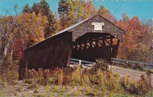 New Hampshire  Swiftwater Covered Bridge Bath Over The Wild Ammonoosuc River