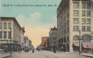 JOLIET ,  Illinois , 1914 ; Chicago Street , North