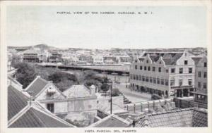 Curacao Partial View Of The Harbor 1945