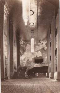 New York City Grand Foyer Of Radio City Music Hall Real Photo