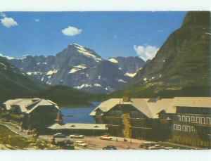 Pre-1980 MANY GLACIER HOTEL Glacier National Park Montana MT HQ0660