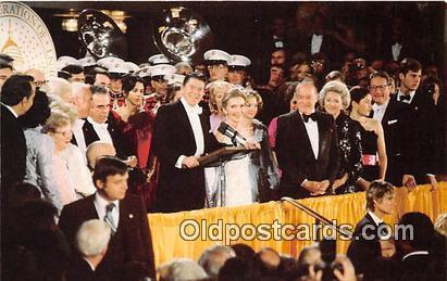 Inaugural Ball, 1981 Postcard President & Mrs. Ronald Reagan
