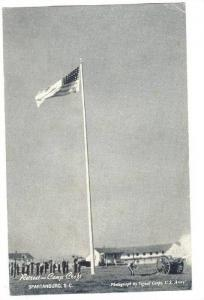 RP; Retreat, Camp Croft, American Flag, Spartanburg, South Carolina, 00-10s