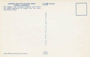 STURGIS , Michigan , 50-60s ; West on Chicago Street