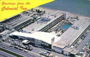 Colonial Inn Miami Beach FL 1966