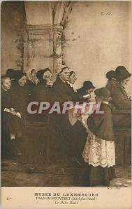 Old Postcard Musee du Luxembourg Dagnan Bouveret (Pascal Adolphe) Bread Benit