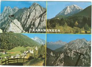 KARAWANKEN, Grenzberge, Austria, used Postcard