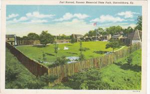 Fort Harrod Pioneer Memorial State Park Harrodsburg Kentucky