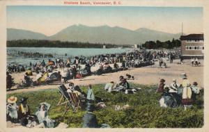 VANCOUVER , B.C. , 1910s ; Kitsiiano Beach