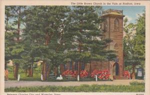 Iowa Nashua The Little Brown Church In The Vale Curteich