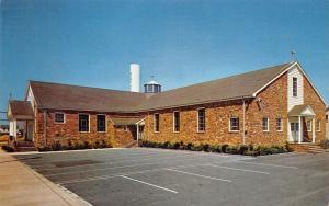 Surf City New Jersey~St Thomas of Villanova Catholic Church~1965 Postcard