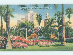Linen PANORAMIC VIEW Miami Florida FL AF0626
