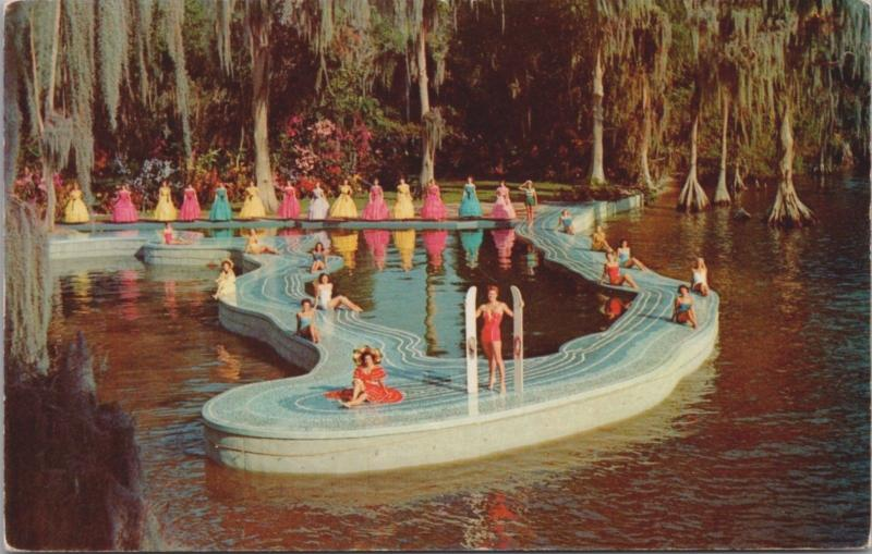 Esther Williams Swimming Pool Lake Eloise Cypress Gardens FL Unused Postcard D36
