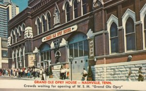 NASHVILLE, Tennessee, 1940-60s; Grand Ole Opry House