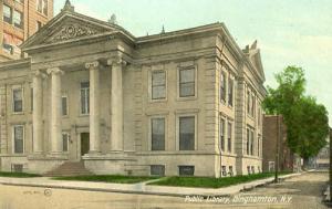 NY - Binghamton. Public Library