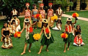 Hawaii Maui Napili Kai Beach Club Hotel Hula Show Cast 1983