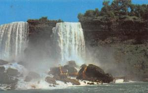 Cave of the Winds under the American Falls postcard