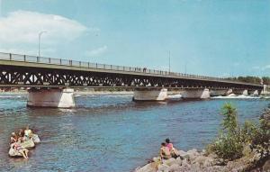 Pont Mgr Lanlois, Camping  a proximite, Quebec, Canada, 40-60s