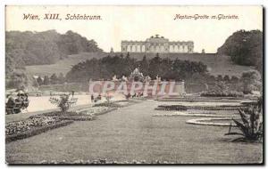 Austria - Austria - Wien - Neptun Cave m Gazebo - Old Postcard