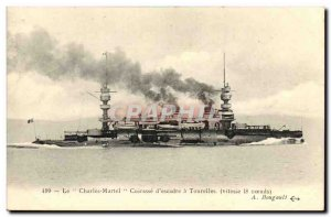 Old Postcard Boat War The Breastplate of Martel Charters Wing Turrets