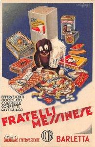 Fratelli Messinese Barletta Advertising 1918 light crease right edge