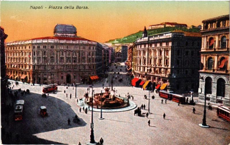 CPA NAPOLI Piazza della Borsa. ITALY (525439)