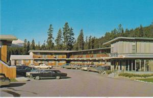 Exterior View, Classic Cars Parked Outside  Mt. Robson Motels LTD, Jasper Nat...