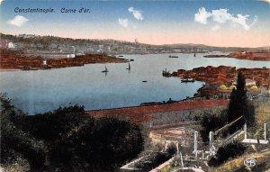 Corne d'or Constantinople Turkey Unused