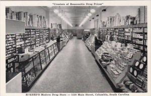 South Carolina Columbia Eckerd Drug Store Interior