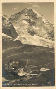 Switzerland Kl. Scheidegg und Mönch 02.81