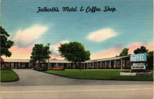 FOLKERTHS MOTEL COFFEE SHOP ALDEN NEW YORK
