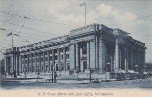 U. S. Court House And Post Office, INDIANAPOLIS, Indiana, 1900-1910s