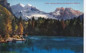 Switzerland Blausee mit Doldenhorn