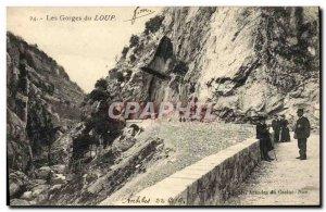 Old Postcard The Gorges du Loup