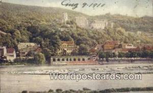Old Heidelberg Germany, Deutschland Postcard  Old Heidelberg