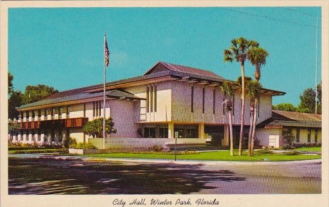 Florida Wintr Park City Hall