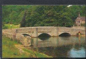 Derbyshire Postcard - Sheepwash Bridge, Ashford In The Water     RS20601