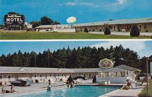 SYLVANIA , Georgia , 50-60s ; South Manor Motel & Restaurant , U.S. Highway 301