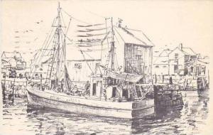 Showing A Sailboat, PU-1975